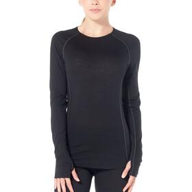 Icebreaker 150 Zone Koszulka z długim rękawem Kobiety, czarny